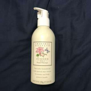 Crabtree & Evelyn summer hill hand therapy 250g 手霜