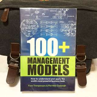 # Highly Recommended《Bran-New + Management Theory & Business Model For The Leaders Of Today and Tomorrow》100+ MANAGEMENT MODELS : How to understand and apply the world's most powerful business tools