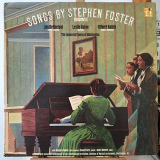 Songs by Stephen Foster Nonesuch H-71333