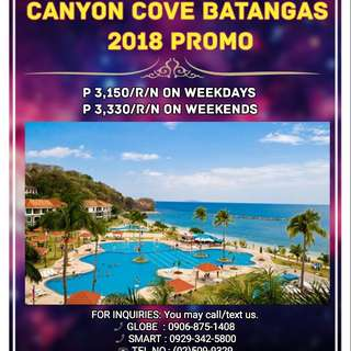 Canyon Cove Beach Club - 2018 PROMO