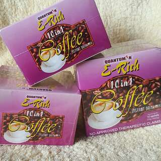 QUANTUMIN PLUS E-Rich 10 in 1 Coffee