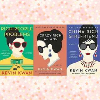 FREE Giveaway Ebooks Crazy Rich Asians Trilogy