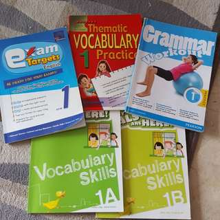 Assessment Books primary 1