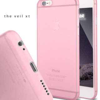 Caudabe Veil XT iPhone 6s cover (Pink)