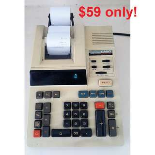 Casio DR-1212S Printer Calculator - made in Japan