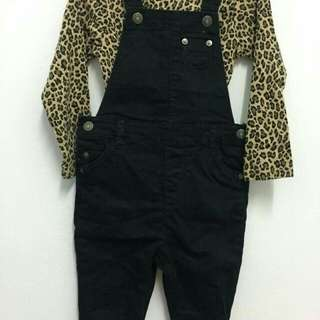 Carters overall + bodysuit