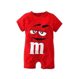 [Ready Stock] M&M Baby Romper