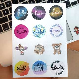 Customized sticker gift