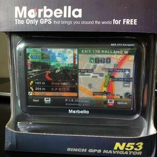 Morbella N53 GPS Navigator