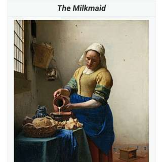 Milkmaid Poster Painting