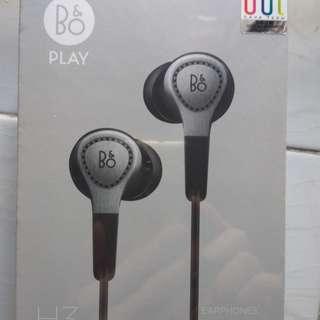 全新 B&O H3 耳機 Earphone (銀色 Silver)