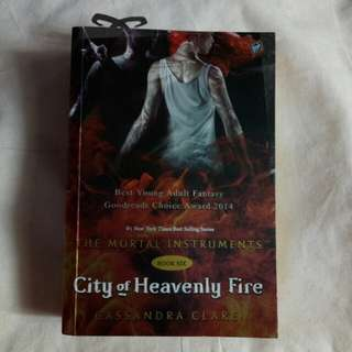 The Mortal Instruments City of Heavenly Fire