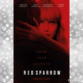 Red Sparrow Poster 2018