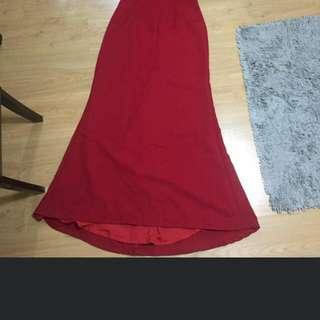 Red Gown #dressunder499