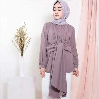 CASIE BLOUSE MOCCA