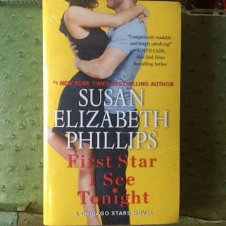 SEALED! SUSAN ELIZABETH PHILLIPS First Star I See Tonight