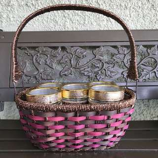 Cookies Jar in Basket