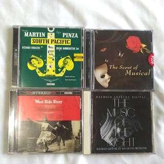 Broadway Musical CD set of 4