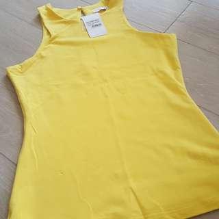 BNWT Love Bonito Ashley Yellow top