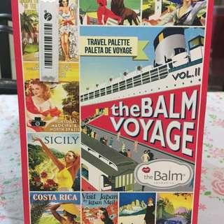 The Balm Voyage vol II (eye shadow and creamy lipstick)