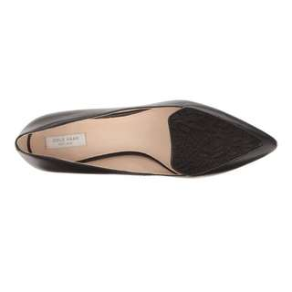 Cole haan black lace skimmer heel size 6