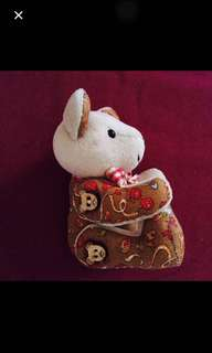 Handmade moveable soft toy