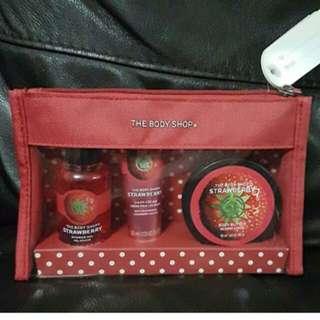 Body shop - Strawberry Beauty Bag