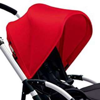 Red canopy Bugaboo Bee 3