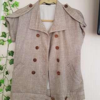 Lver short sleeve jacket