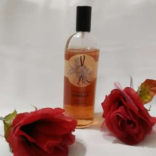 The Body Shop Vanilla body mist 100% original