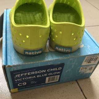 Authentic Pre-loved Native Shoes for kids