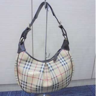 AUTHENTIC BURBERRY MEDIUM HOBO BAG - GOOD CONDITION - WITH DUSTBAG