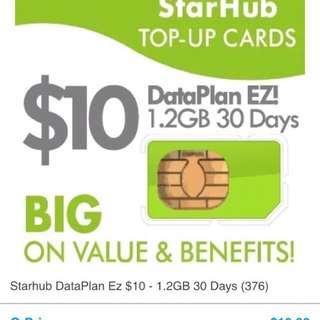 Starhub data $10