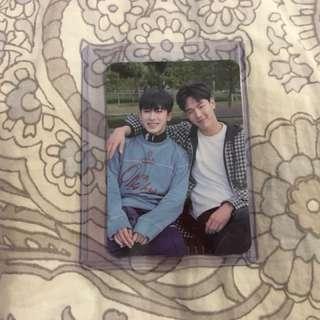 Monsta X Shownu & Wonho The Code photocard