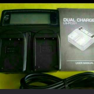LVsun Dual Battery Charger (Fujifilm)