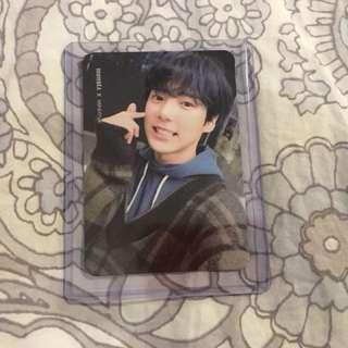 Monsta X Minhyuk The Code photocard