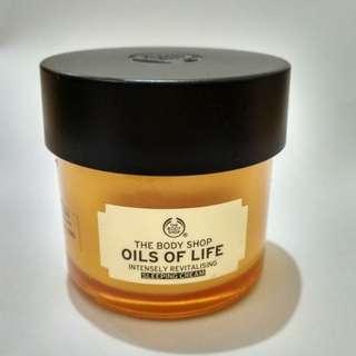 The Body Shop : Oils Of Life (Sleeping Cream)