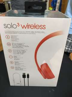 Headphone soli3 wireless