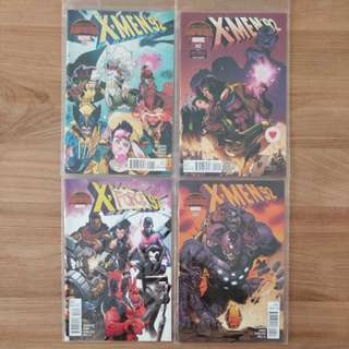 Marvel Comics Xmen'92 #1-4