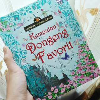 Buku untuk anak kumpulan dongeng favorit