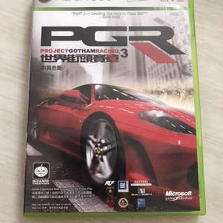Xbox 360 Game - PGR3 - Project Gotham Racing 3