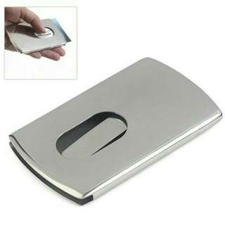 Stainless Steel Name Card Holder