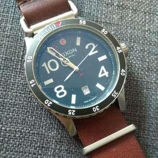 Nixon Men's Watch Swiss Made Dual Time