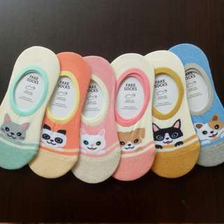 Assorted Animal Loafer Sock (3 for $10.00)