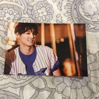 GOT7 JB Just Right photocard/ post card