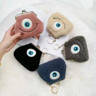 (PO) Furry Monster Inc. Coin Purse
