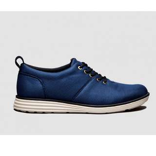 Brodo Signore Stealth Low Navy Ivory Sole  (Size 41)