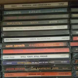Varioud metal cds for sale