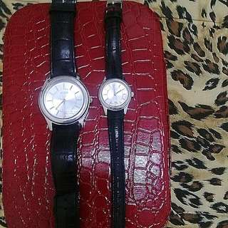 Authentic GUESS couple Watch