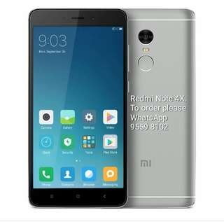 Redmi Note 4X, 32G, Global Version. Dark grey